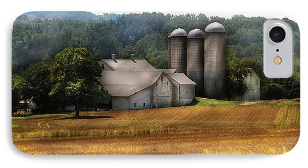 Farm - Barn - Home On The Range Phone Case by Mike Savad