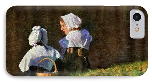 Farm - Farmer - The Young Maidens Phone Case by Mike Savad