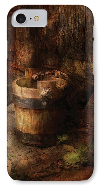 Farm - Pail - An Old Pail Phone Case by Mike Savad