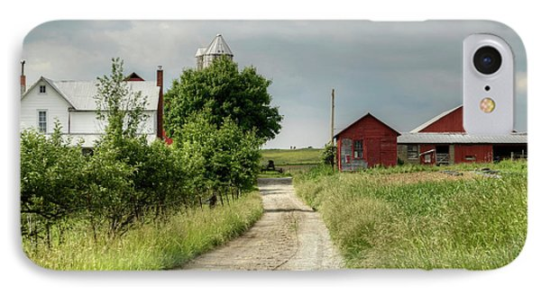Farm IPhone Case by Ann Bridges
