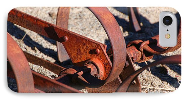 IPhone Case featuring the photograph Farm Equipment 4 by Ely Arsha