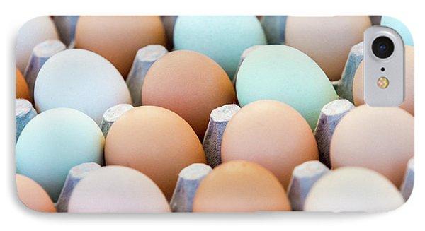Farm Fresh Eggs IPhone Case by Todd Klassy