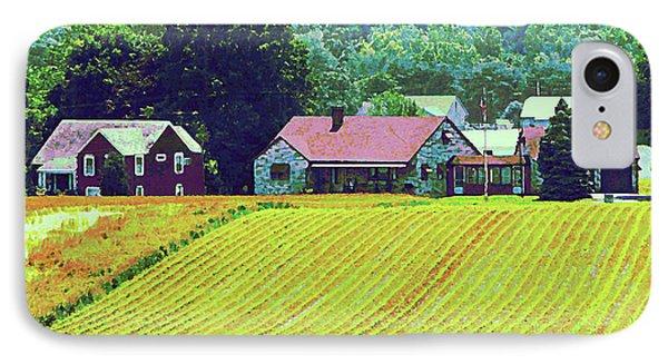 Farm Homestead Phone Case by Susan Savad