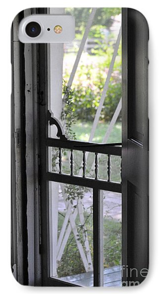 Farm House Screen Door IPhone Case
