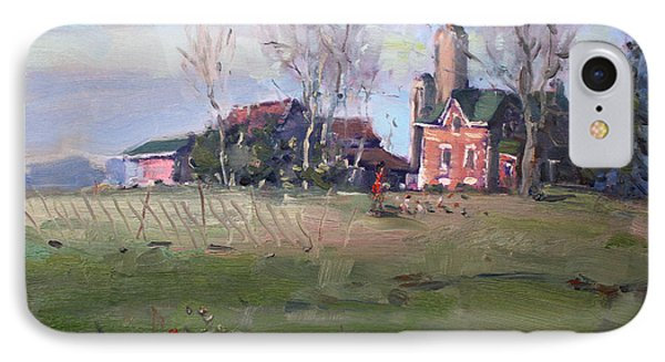 Farm In Georgetown IPhone Case by Ylli Haruni