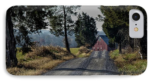 IPhone Case featuring the photograph Farm Lane by Robert Geary