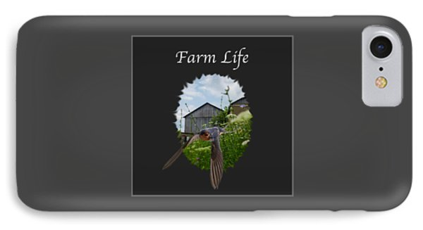 Farm Life IPhone Case by Jan M Holden