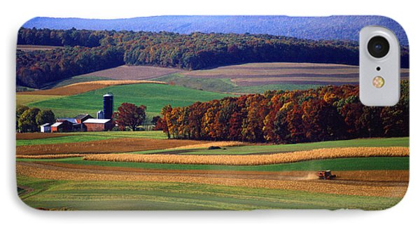 Farm Near Klingerstown Phone Case by USDA and Photo Researchers