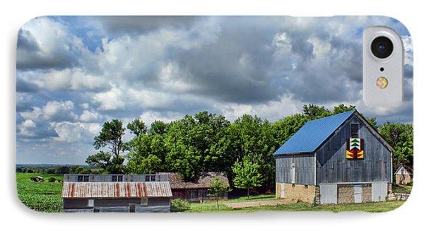Farm Scene - Barns - Nebraska IPhone Case by Nikolyn McDonald