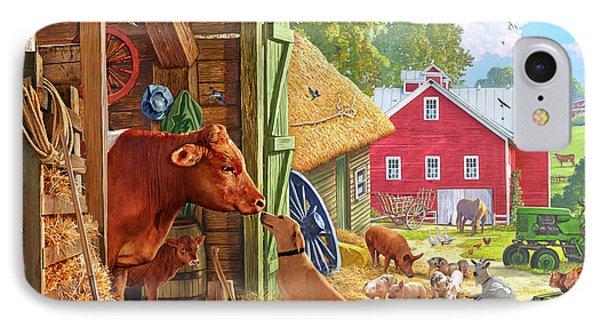 Farm Scene In America IPhone 7 Case