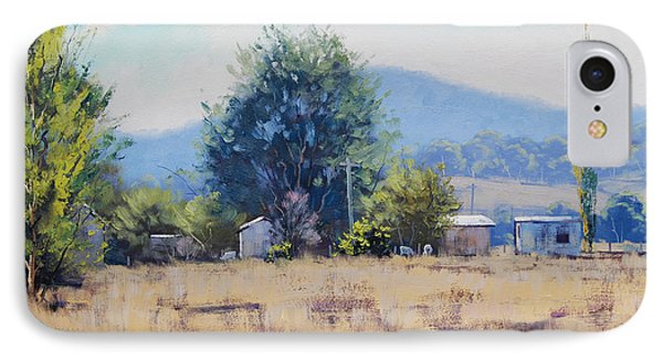 Farm Sheds At Trmut IPhone Case