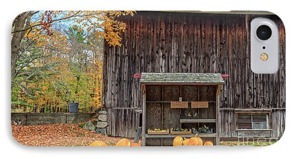 Farm Stand Etna New Hampshire IPhone Case by Edward Fielding