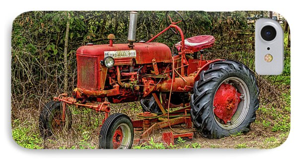 IPhone Case featuring the photograph Farmall Cub by Christopher Holmes