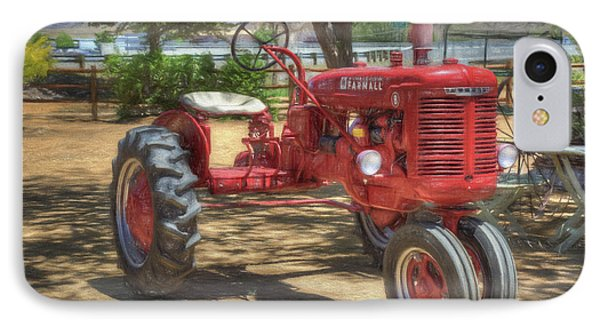 Farmall IPhone Case by Donna Kennedy