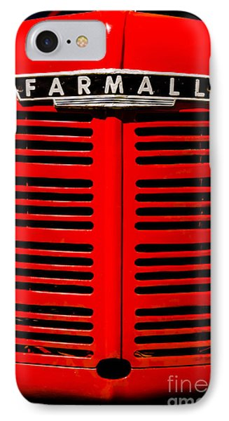 Farmall Grill IPhone Case by Sherman Perry