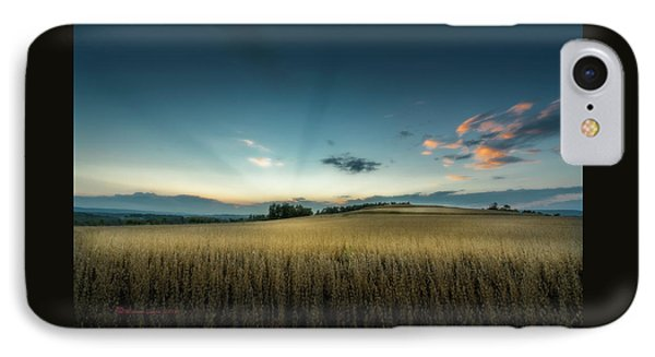 Farmers Field IPhone Case by Marvin Spates