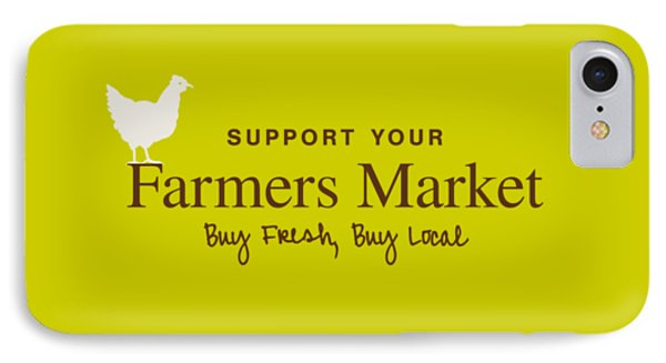 Farmers Market IPhone 7 Case by Nancy Ingersoll