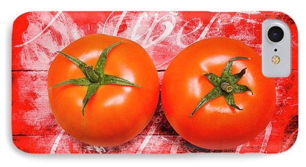 Farmers Market Tomatoes IPhone Case by Jorgo Photography - Wall Art Gallery