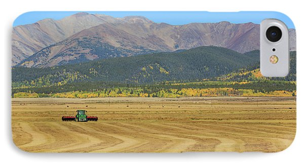 Farming In The Highlands IPhone 7 Case by David Chandler