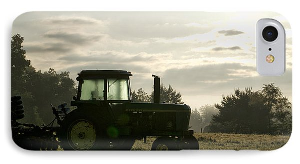 Farming John Deere 4430 IPhone Case by Thomas Woolworth