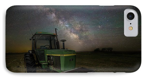 Farming The Rift 7 IPhone Case by Aaron J Groen