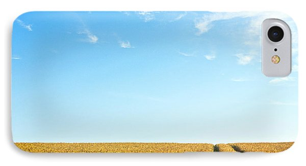 Farmland To The Horizon 1 Phone Case by Heiko Koehrer-Wagner