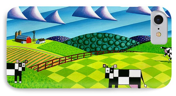 Farmland With Hills And Cows Painting By Bruce Bodden