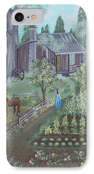Farmstead IPhone Case by Virginia Coyle