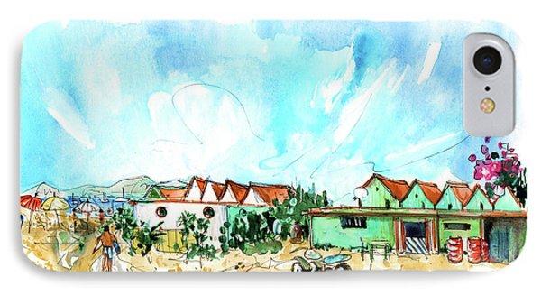 Farol Island 03 IPhone Case by Miki De Goodaboom