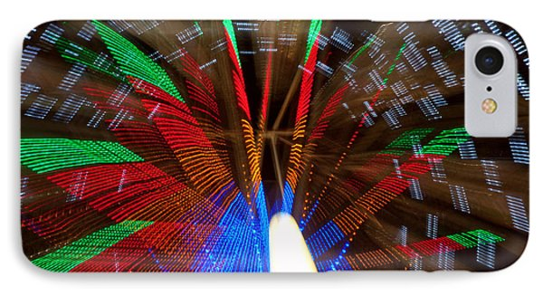 Farris Wheel Light Abstract Phone Case by James BO  Insogna
