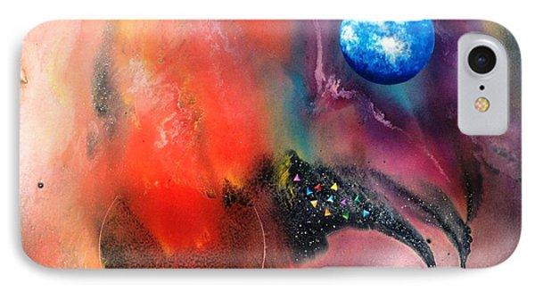 Farwell To Mars Phone Case by Lee Pantas
