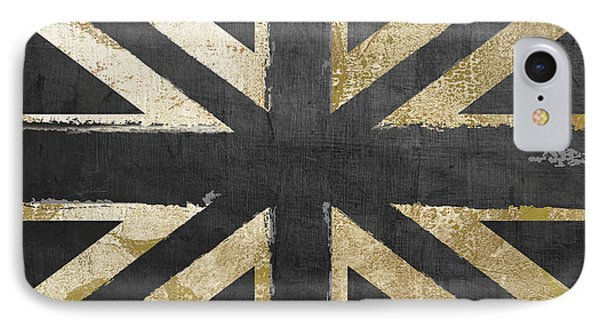 Fashion Flag United Kingdom IPhone Case by Mindy Sommers