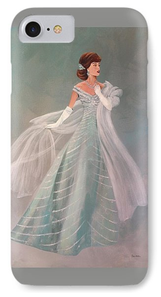 Fashion Illustration Vintage Fashion Fifties Style  Vintage Style IPhone Case by Cheri Miller