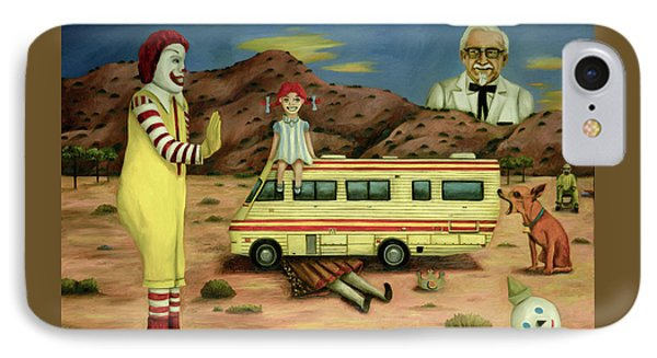 Fast Food Nightmare 5 The Mirage IPhone Case