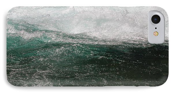 IPhone Case featuring the photograph Fast Water by Edward R Wisell
