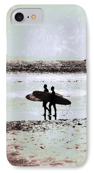 Father And Son IPhone Case by Leah McPhail