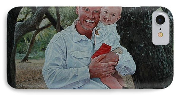 Father And Son Phone Case by Michael Nowak