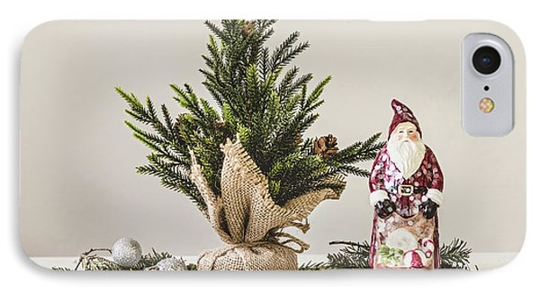 IPhone Case featuring the photograph Father Christmas by Kim Hojnacki