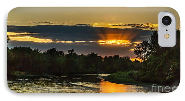 Father's Day Sunset IPhone Case