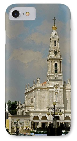 IPhone Case featuring the photograph Fatima Cathedral by Kirsten Giving