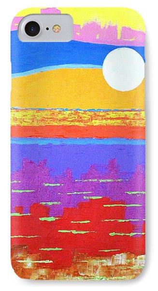 Fauvist Sunset IPhone Case by Jeremy Aiyadurai
