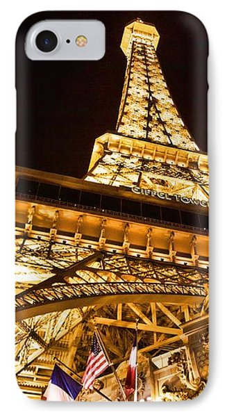 IPhone Case featuring the photograph Faux Eiffel by Kim Wilson