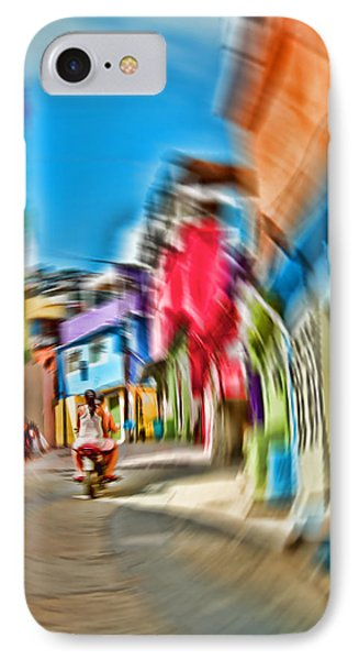 IPhone Case featuring the photograph Favela Vortex by Kim Wilson