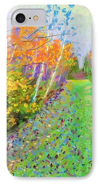 Favorite Fall Scene IPhone Case by Rae  Smith