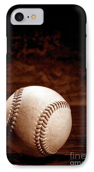 Baseball iPhone 7 Case - Favorite Pastime  by Olivier Le Queinec