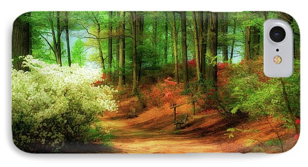 Favorite Path IPhone Case by Lois Bryan