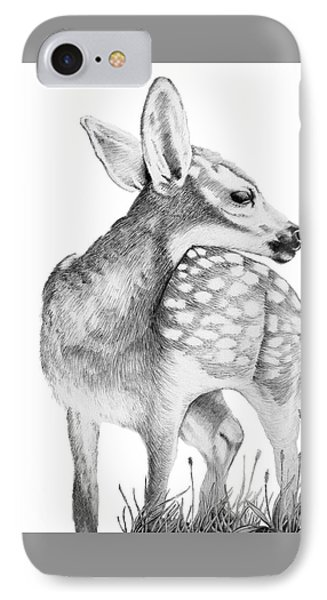 Fawn IPhone Case by Lawrence Tripoli