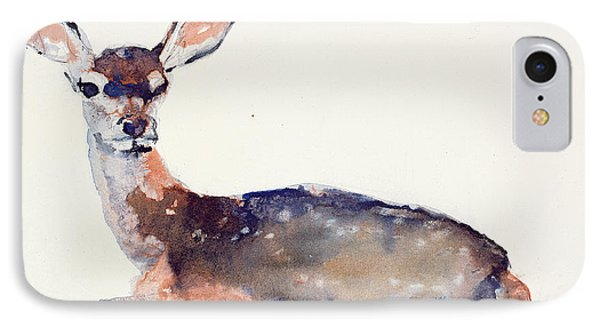 Fawn IPhone Case by Mark Adlington