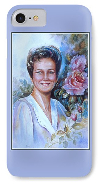 Faye IPhone Case by Patricia Schneider Mitchell
