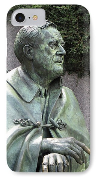 Fdr Statue At His Memorial In Washington Dc IPhone Case